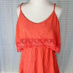 DRESS RUE 21 Orange BOHO